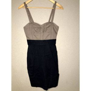 Aritzia Wilfred Brown Black Dress Size 2